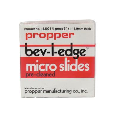 Bev-L-Edge® Micro Slides