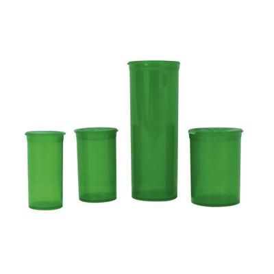 Green Pop-Top Vials