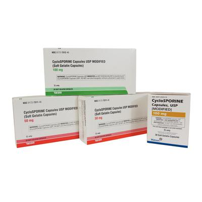 Cyclosporine Gel Capsules