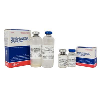 Brucella Abortus Vaccine (RB-51)