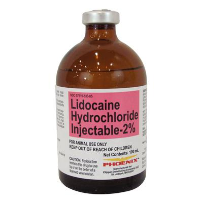 Lidocaine HCl 2% Injection (Phoenix)