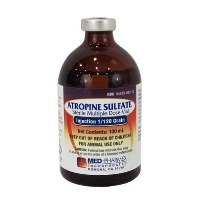 Atropine Sulfate Injection 1/120 Grain