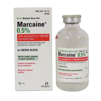 Marcaine 0.5% with Epinephrine