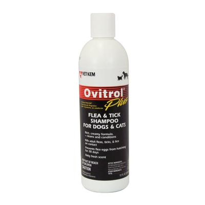 Ovitrol® Plus Flea and Tick Shampoo