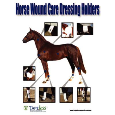 Equine TAPEless Dressing Holders