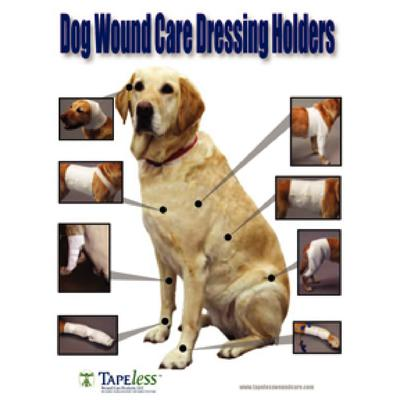 Canine TAPEless Wound Care