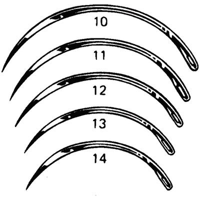 Reverse Cutting Needle (3/8 Circle )