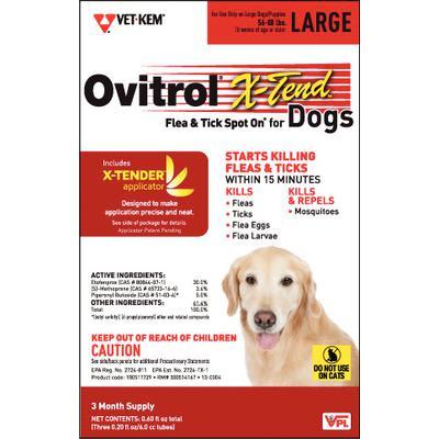 Ovitrol X-Tend Spot On for Dogs