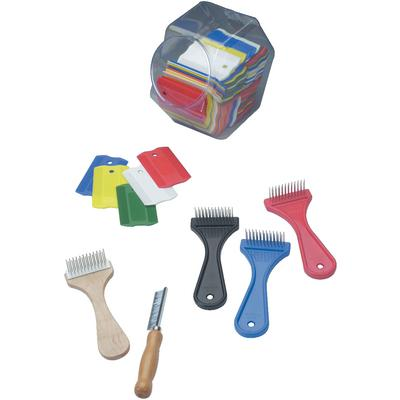 KVP Flea Combs and Dispenser
