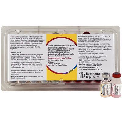 Duramune® DA2 PPv + CVK/LCI-GP + LymeVax
