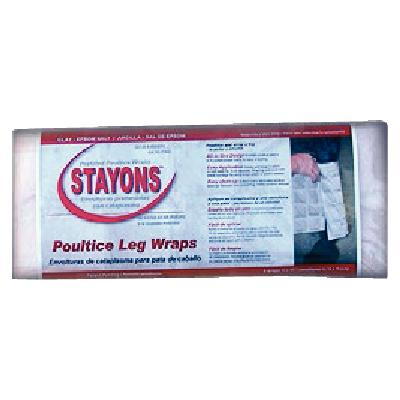 Stayons Poultice Leg Wraps Clay+ Epsom Salt
