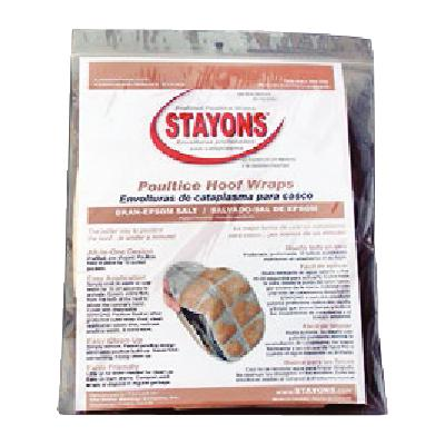 Stayons Poultice Hoof Wraps Bran + Epsom Salt