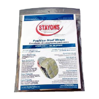 Stayons Poultice Hoof Wraps Epsom Salt