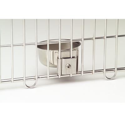 Feline Specialty Bowl and Mounting Brackets