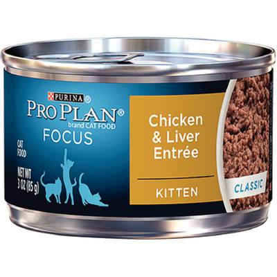 Pro Plan® FOCUS Kitten Chicken and Liver Entrée Classic