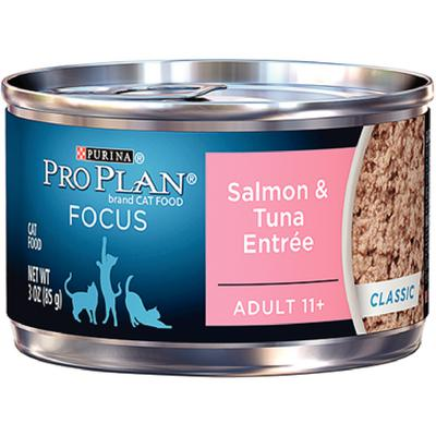 Pro Plan® FOCUS Feline 11+ Salmon and Tuna
