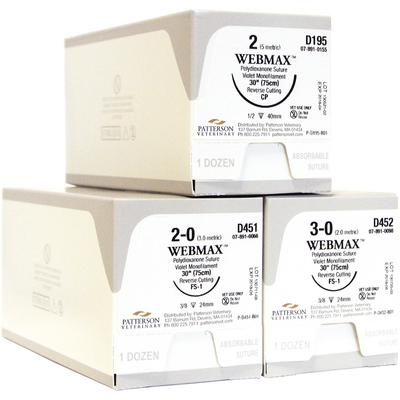 Patterson Veterinary WebMax™ Sutures