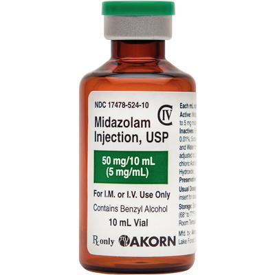 Midazolam Injection C IV