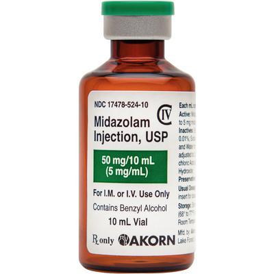 Midazolam Injection C IV