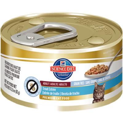 Hill's Feline Adult Grain Free Entrees