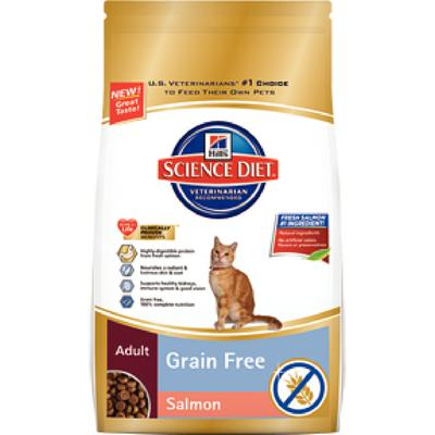 Hill's Feline Adult Grain Free Salmon