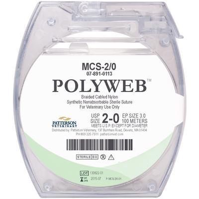 Patterson Veterinary PolyWeb™ Suture Cassettes