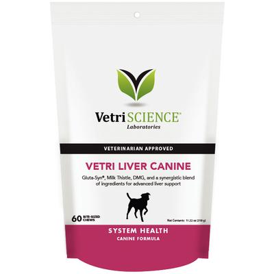 Vetri Liver Canine Bite-Sized Chews