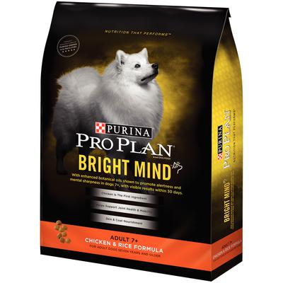 Pro Plan® Bright Mind Adult 7+ Chicken and Rice Formula
