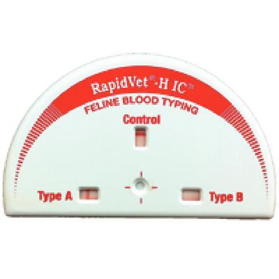 Rapid Vet®- H IC Feline Blood Typing System