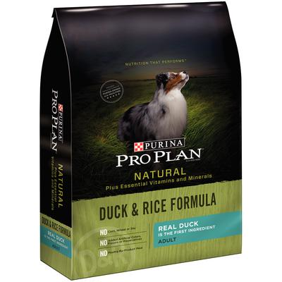 Pro Plan® Natural Duck & Rice Formula Adult Dog Food