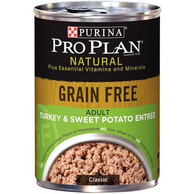 Pro Plan® Natural Grain Free Adult Turkey & Sweet Potato Entree