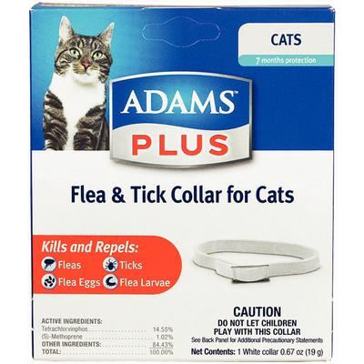 Adams™ Plus Flea & Tick Collars for Cats