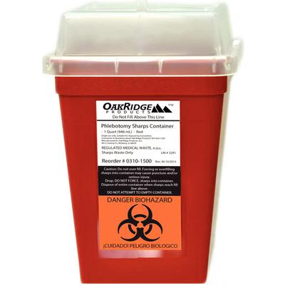 OakRidge Sharps Containers