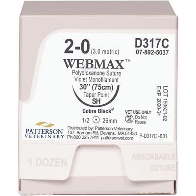 WebMax™ Cobra Black™ Sutures