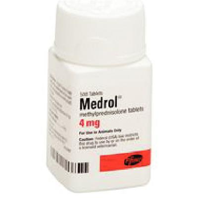 Medrol® 4 mg Tablets