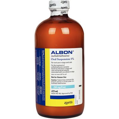 Albon® Oral Suspension 5%