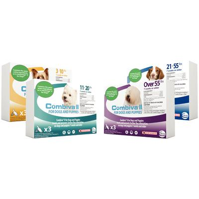 Combiva® II for Dogs and Puppies