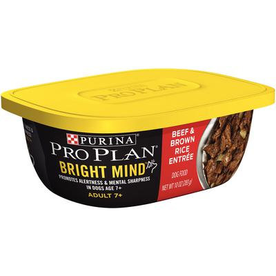 Pro Plan® Bright Mind Adult 7+ Beef and Brown Rice Entrée