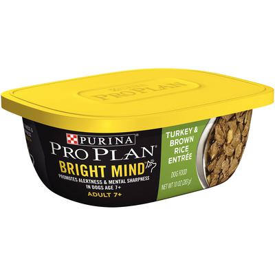 Pro Plan® Bright Mind Adult 7+ Turkey and Brown Rice Entrée