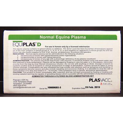Equiplas® D – Normal Equine Plasma