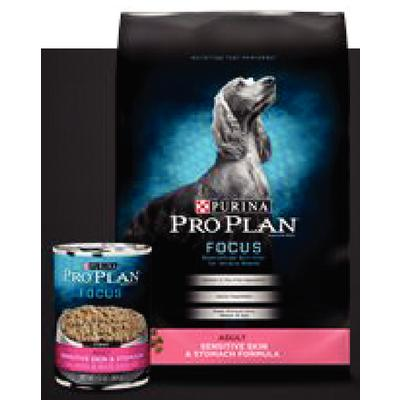 Pro Plan® Focus Adult Sensitive Skin and Stomach, Salmon and Rice Formula