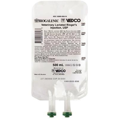 Vedco Veterinary Lactated Ringer's Injection, USP