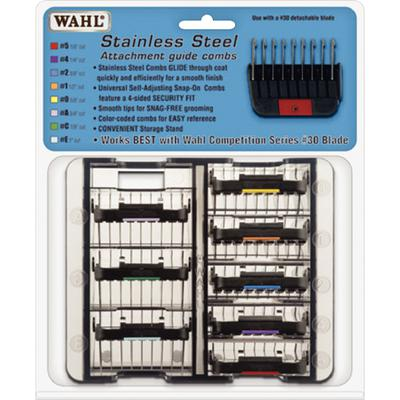 Wahl® Stainless Steel Attachment Guide Combs