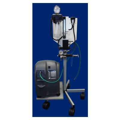 JorVet Easy Combo Flow Anesthesia Machine