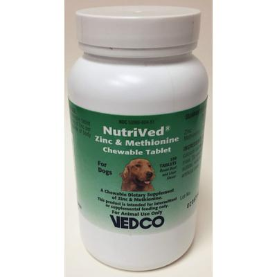 NutriVed™ Zinc & Methionine Chewable Tablets