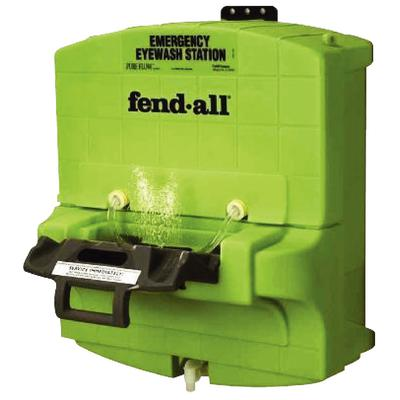 Fendall Porta Stream II Eye Wash Station with Saline