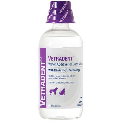 Vetradent™ Water Additive for Dogs and Cats