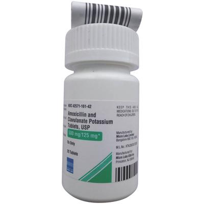 Amoxicillin and Clavulanate Potassium Tablets, USP