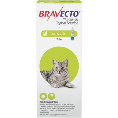 Bravecto™ Topical Solution for Cats