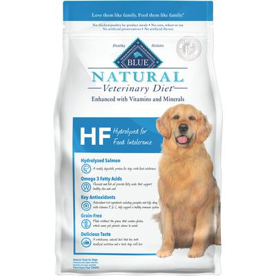 BLUE Natural Veterinary Diet® Canine HF Hydrolyzed for Food Intolerance